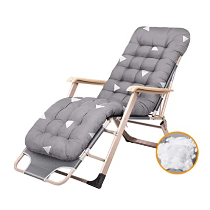 Amazing Amazon Com Oversize Padded Reclining Patio Chairs Zero Machost Co Dining Chair Design Ideas Machostcouk