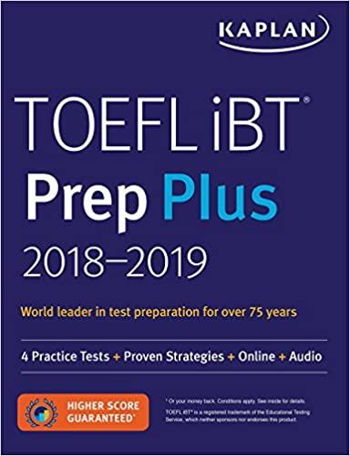 Kaplan Book For Toefl