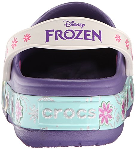 E Punta Crocs Clog Lights Bambine Blu Fever Ragazze Sandali Frozen Violet blue A K Chiusa qZ010Sx