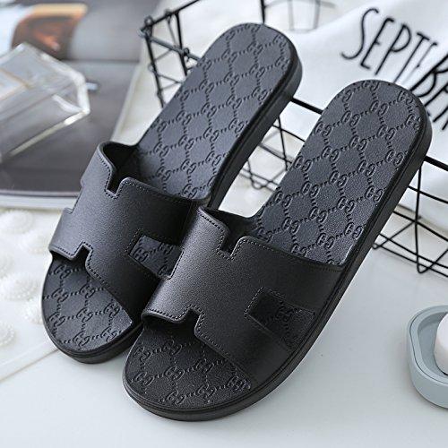 DogHaccd pantofole,I bagni sono freschi in estate donna sandali ciabattine stare a casa durante il periodo estivo e la vasca da bagno le coppie maschio piscina incantevole e raffreddare le pantofole,N