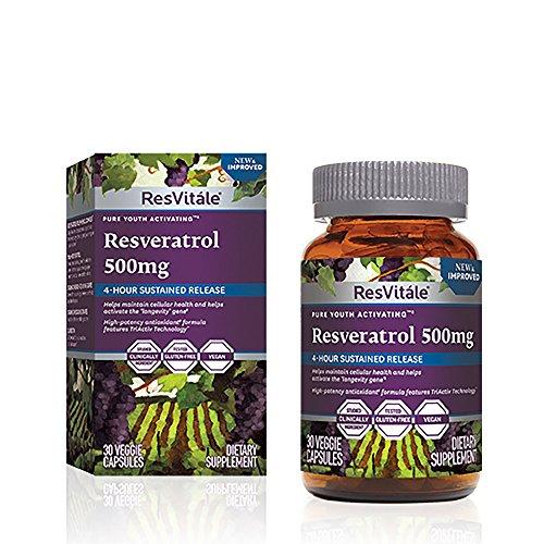 ResVitle Resveratrol 500mg by ResVitále�?�