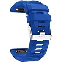 Becoler Reemplazo Silicagel Quick Release Kit Band Strap para Garmin Fenix 5X