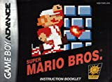 Super Mario Bros GBA Instruction Booklet (Game Boy Advance Manual Only) (Nintendo Game Boy Advance Manual)