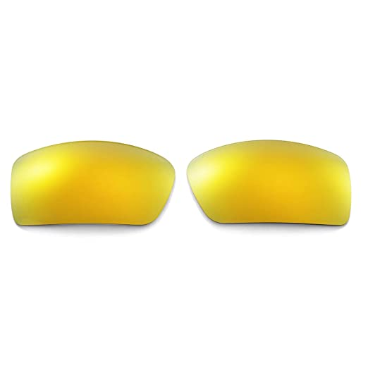 408c21250e Amazon.com  Walleva Replacement Lenses for Oakley Gascan Sunglasses - Multiple  Options Available (24K Gold Mirror Coated - Polarized)  Shoes
