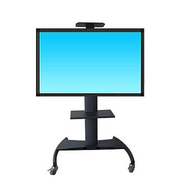 32-70 Pulgadas LCD TV Stand Sala de Estar móvil Piso Video Conferencia Oficina Carrito