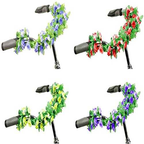 Bike Bicycle Handlebar Decorate Flower Vine Plants (Vine Spacer)