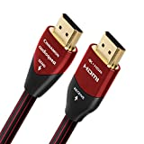 AudioQuest Cinnamon 10m (32.8 ft.) Black/Red Active HDMI Digital Audio/Video Cable with Ethernet Connection