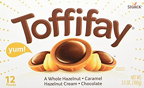 Toffifay Hazelnut Candies, 3.5 Ounce (Pinky Marie)