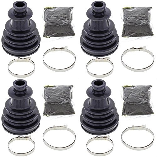 Complete Rear Inner /& Outer CV Boot Repair Kit for Polaris RZR 900 60 INCH 2015-2016 All Balls