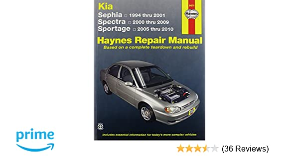 kia sephia spectra sportage automotive repair manual haynes rh amazon com 1999 Kia Sportage 4x4 Kia Sportage Owners