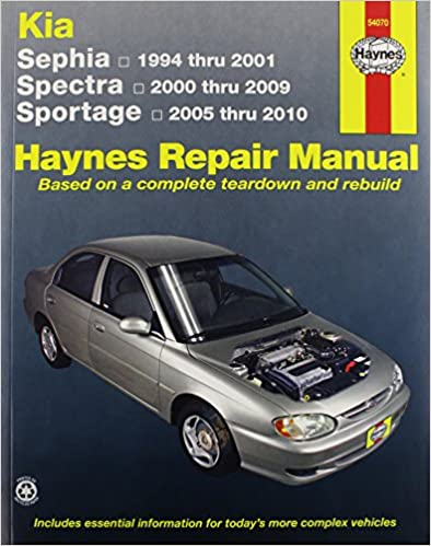 Kia spectra 2000 owners manual