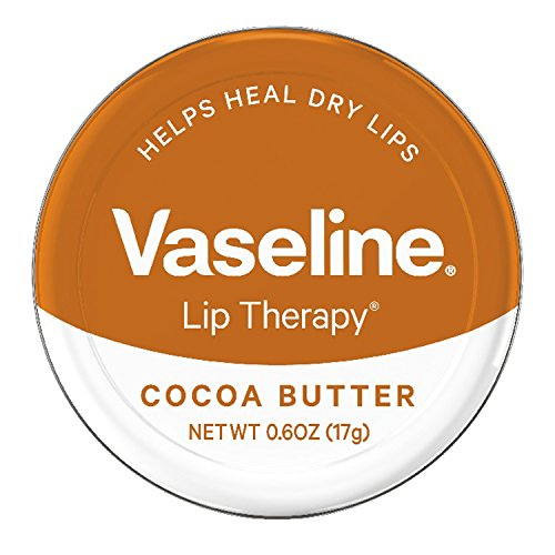 Tin Chaps - Vaseline Lip Therapy Lip Balm Tin, Cocoa Butter, 0.6 oz