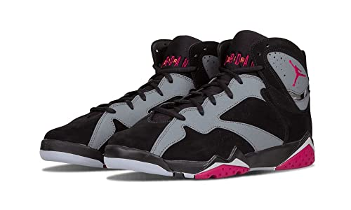 Nike Air Jordan 7 Retro GG, Zapatillas de Running para Niñas, Negro/Rosa