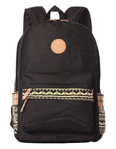 HONEYJOY Unisex Computer Bag School Backpack Student Daypack Laptop Rucksack for Teen
