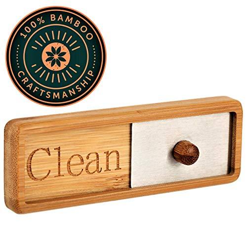TEYGA Bamboo Dishwasher Magnet Dishwashing product image