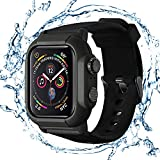 LucklyMax Waterproof Case for Apple Watch Series