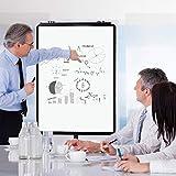 VIZ-PRO ECO Magnetic Mobile Whiteboard/Flipchart