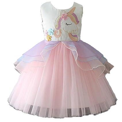 Amazon.com: Disfraz de tutú de unicornio de princesa para ...