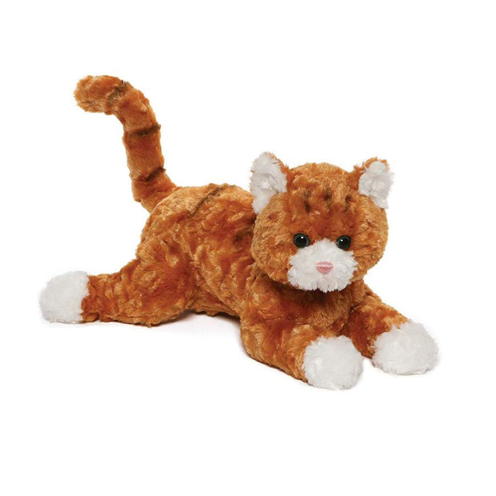 Amazon Com Gund 4061317 Tabby Cat Plush Stuffed Animal 14 Orange