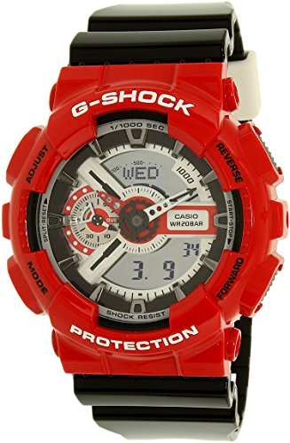 G Shock GA 110RD RED Red Size