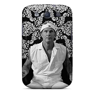 Perfect Hard Phone Case For Samsung Galaxy S3 (sIt11892PbmU) Allow Personal Design Lifelike Red Hot Chili Peppers Image