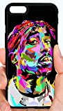 Colorful 2pac Tupac Art West Coast Hip Hop Rap Phone Case Cover - Select Model (iPhone 8 Plus)