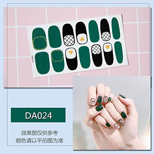 3PCS Full Covered Marble Nail Art Sticker Water Transfer Decal Watermark Slider Manicure Full Wrap Tool Decor Nail Gel Polish DA024 -