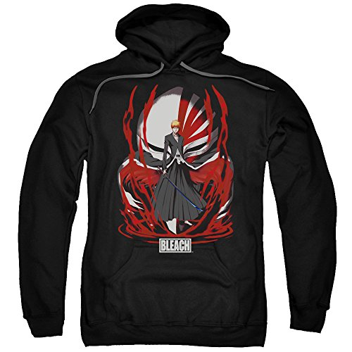 Bleach Legacy Unisex Adult Pull-over Hoodie for Men and Women (Bleach Sweatshirt)