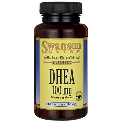 Swanson Dhea 100 Milligrams 60 Capsules