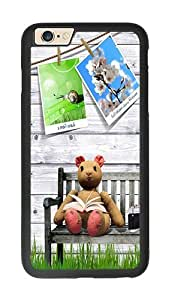 iPhone 6 Case, Clipart With Photos iPhone 6 Rugged TPU Case Black