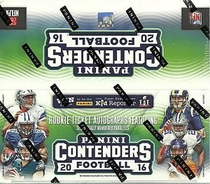 2016 Panini Contenders NFL Football RETAIL box (24 pk)