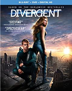 Divergent [Blu-ray + DVD + Digital HD]