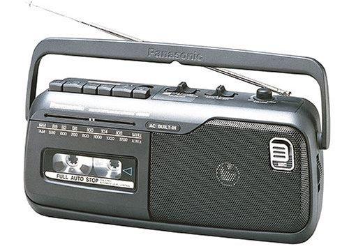 Panasonic RX-M40E9-KMono-Radiorecorder (Tuner und Kassettendeck) schwarz