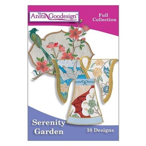 Anita Goodesign ~ Serenity Garden ~ Embroidery Designs (Serenity Garden Design)