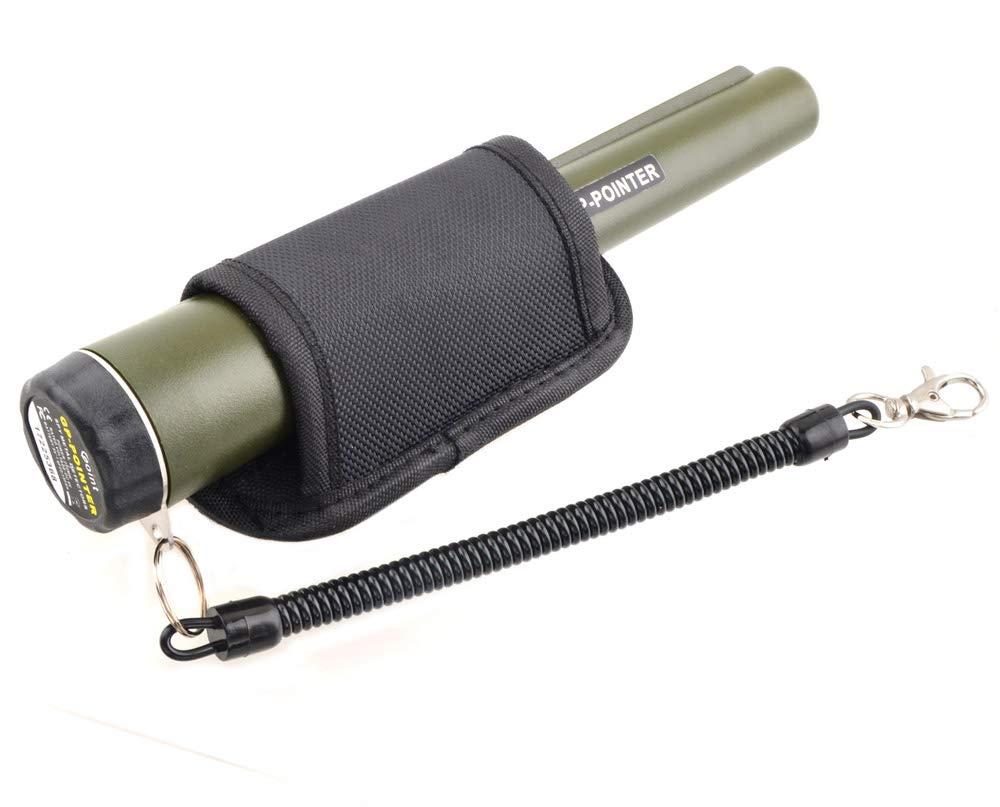 LikeBlue Handheld d/étecteur de m/étaux Broches Pointeur Outil de Chasse au tr/ésor Buzzer Vibrations avec Clip Ceinture pour Enfants Adultes