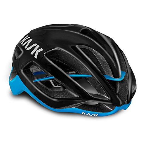 Black   blueee Medium Kask Predone Helmet