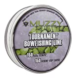 Muzzy 1076 Spool Size 150 #Tournament Bowfishing Line, 150 ft.