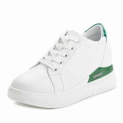 quality design 1fa8b 2718d Damen Sneaker Dicke Sohle Rundzehen Gitter Sportschuhe ...