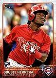 #7: 2015 Topps Rookie Baseball Card #687 Odubel Herrera NM-MT