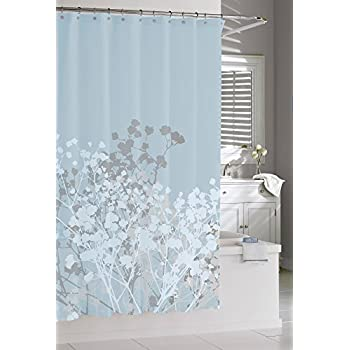 This Item Kassatex Fine Linens Willow Spa Blue Shower Curtain, Blue