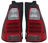 Toyota 4 Runner 06 - 09 Led Tail Light Lamp Pair 8156035270 , 8155035310