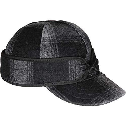 Stormy Kromer Original Kromer Cap - Winter Wool Hat with Earflap (Earflap Hats For Men)