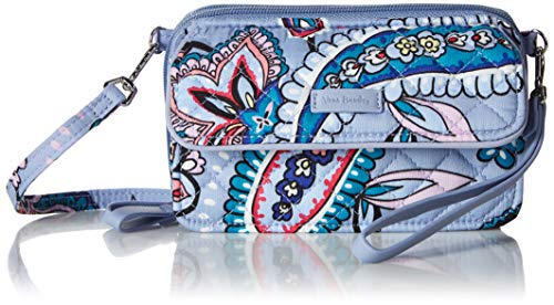 - Vera Bradley Iconic RFID All in One Crossbody, Signature Cotton, Makani Paisley