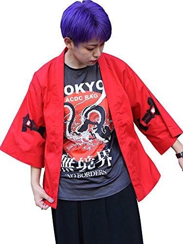 (エーシーディーシーラグ) ACDC RAG KOハオリ 浴衣 着物 羽織り メンズ レディース 和柄 漢字 原宿系 ファッション パンク ロック V系