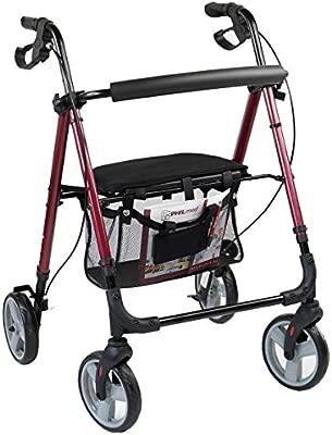 Andador ligero de aluminio de Antar, para personas mayores con ...