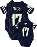 Philip Rivers San Diego Chargers Navy Blue Home Player Creeper Jersey Newborn