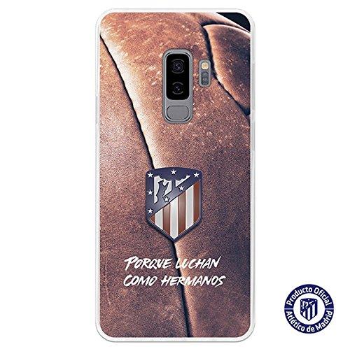 Carcasa Oficial Atl/ético de Madrid Porque luchan como hermanos para Samsung Galaxy S9 Plus