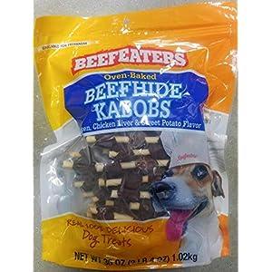 Beefeaters Beefhide Kabobs, 36 oz.