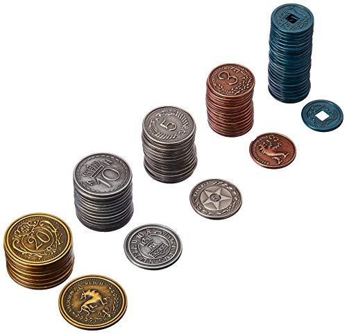 Stonemaier Games Scythe Metal Coins Board Game Addon, Accessory -