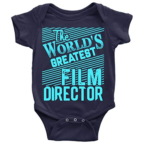 The World Greatest Film Director Baby Bodysuit, Cool Fim Director Baby Bodysuit (NB, Baby Bodysuit - -